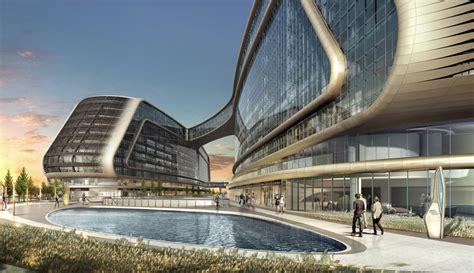 world of architecture futuristic sky soho by zaha hadid
