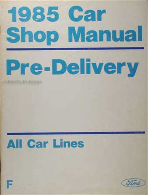 auto repair manual free download 1985 mercury grand marquis interior lighting 1985 ford crown victoria mercury grand marquis vacuum diagram non emissions