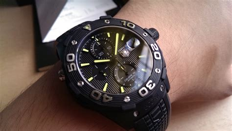 Jual Jam Panerai Pam088 Rubberstrap Automatic Clone sold tag heuer aquaracer 500m calibre 16 black pvd limited production 44mm caj2180 ft6023