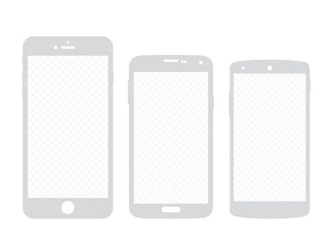 apple s5 mobile free printable smartphone templates for android