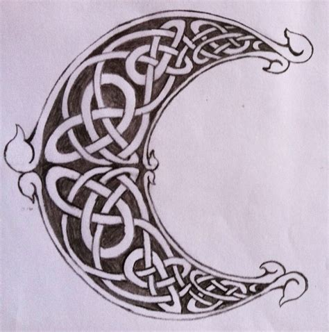 celtic moon tattoo designs celtic moon celtic 1 celtic elves and symbols