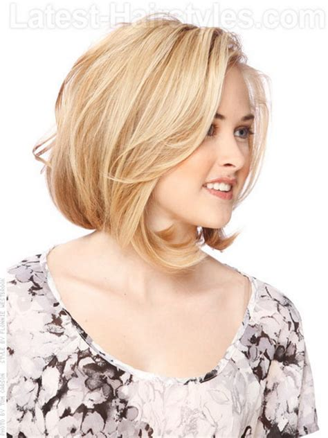 cut sholder lenght hair upside down medium layered hairstyles for fine hair