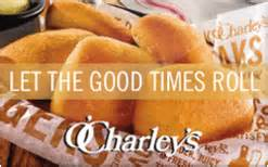 o charley s gift card discount 21 32 off - O Charley S Gift Card