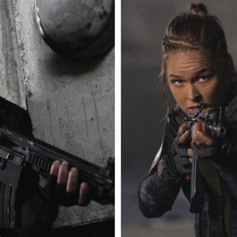 film iko uwais and ronda rousey nerd reactor ufc ch ronda rousey joins the raid star