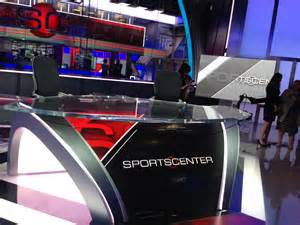 Sportscenter Desk Yes Espn Is Experimenting With In Studio Announcers For