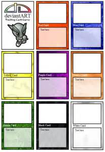 tcg template trading card template cyberuse