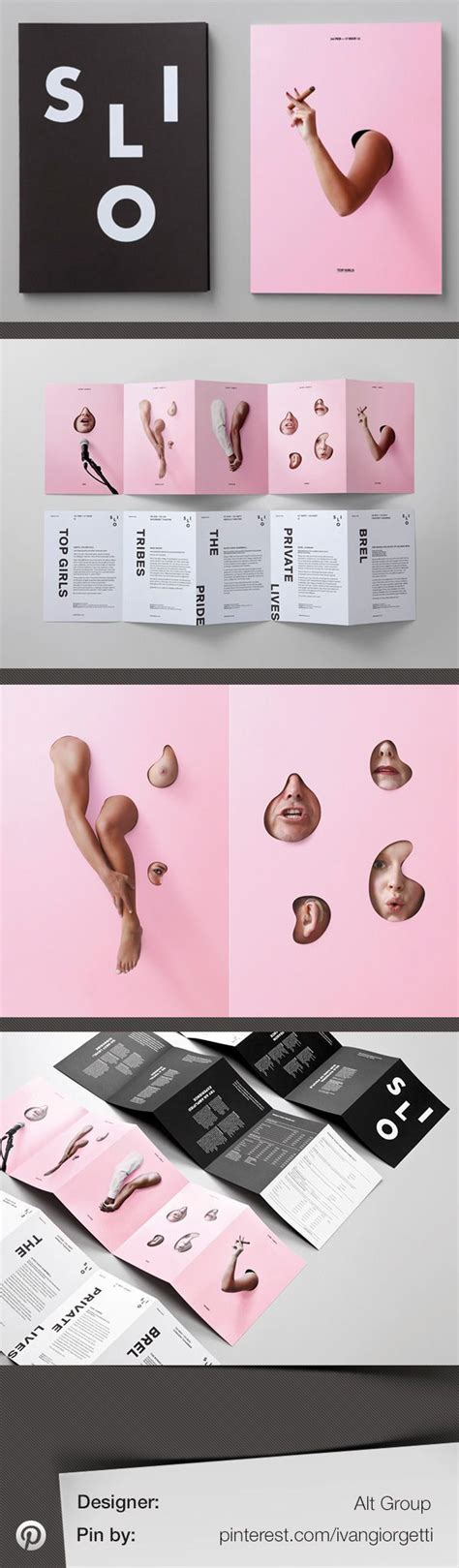 booklet layout pinterest silo theatre identity design by alt group branding and