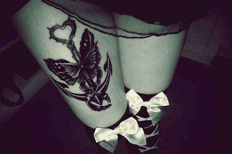 feminine thigh tattoos 40 secret thigh tattoos that nobody will see