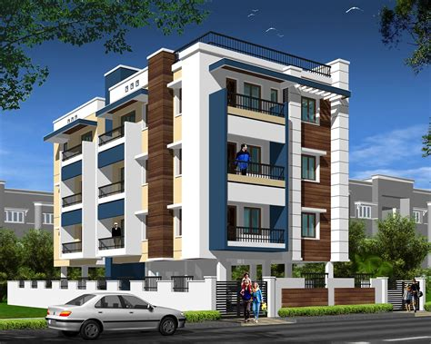 Home Design 3d Two Storey by Modern Apartment Building Elevations