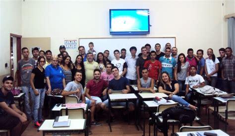 palestra de representante do inss em pedralva vale independente estudantes de seguran 231 a do trabalho t 234 m palestra sobre