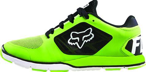 fox racing mens flo green black white motion evo