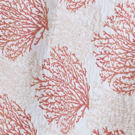 Coral Quilt by Coral Coast Coral Quilt Set From Beddingstyle