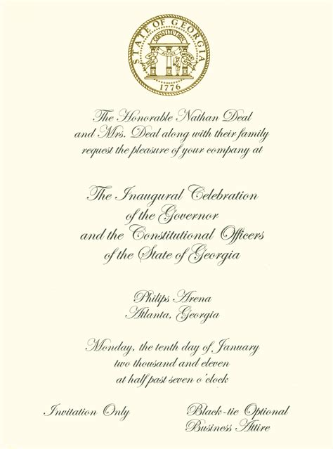 Invitation letter to governor best custom invitation template invitation letter for inauguration of new building best custom stopboris Choice Image