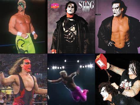 wrestler sting w gis blonde hair enough stings already wrestlingfigs com wwe figure forums