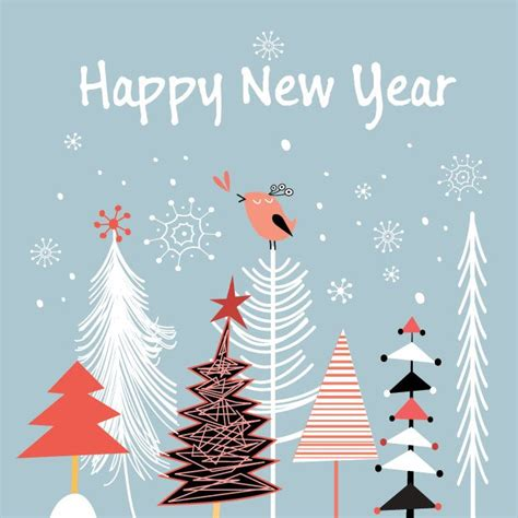 free happy new year card template new year invitations templates free