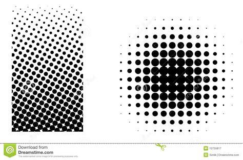 photoshop tutorial creating vector halftones halftone elements vector stock illustration illustration