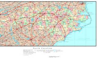 carolina political map