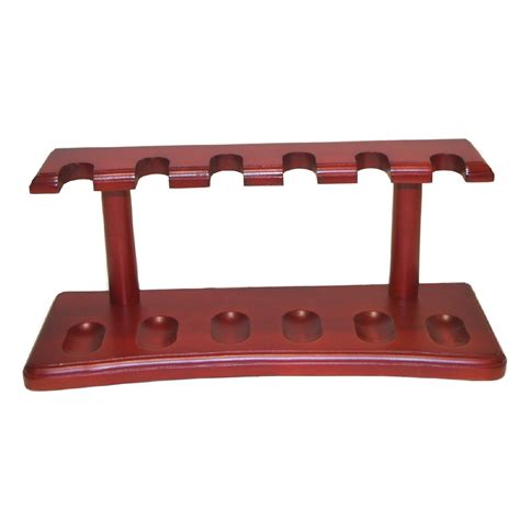 Plumbing Pipe Rack by Cherry Wood Pipe Rack Holds 6 Pipes