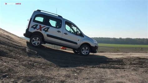 peugeot partner 4x4 peugeot dangel 4x4 test drive youtube
