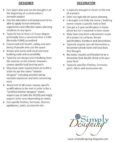interior design scope of work exles interior design