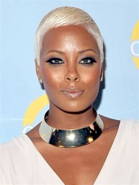 really short haircuts with black on bottom blonde on top short hairstyles for black women circletrest