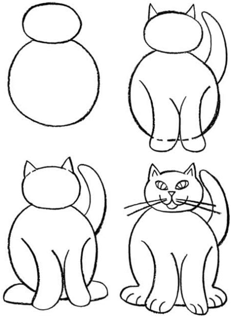 how to draw doodle cat 1 how to draw cat and dogs