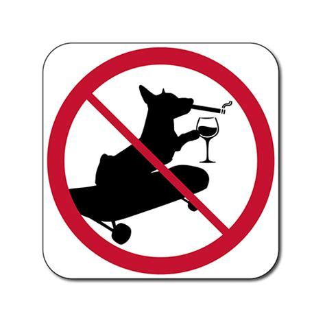 No Smoking Sign Dog | dog no poop sign goldenacresdogs com
