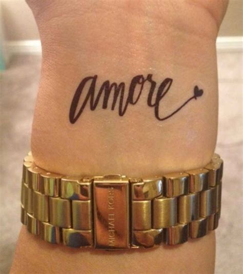 italian wrist tattoos not into the tattoos but i this font for my