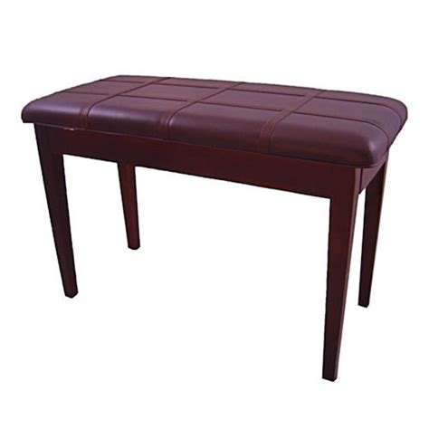 mahogany piano bench cameron sons cs 10 mahp pd mahogany piano bench padded