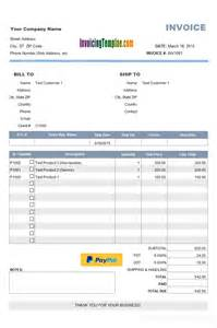 invoice template to get paid with payment report