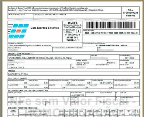layout xml nota fiscal eletronica emissor nf e nota fiscal eletr 244 nica danfe financeiro