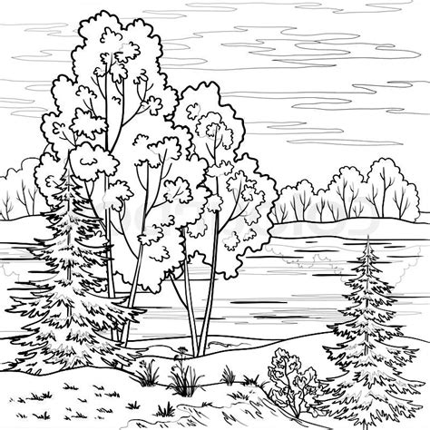 imagenes bonitas para colorear de paisajes im 225 genes de paisajes lindos para dibujar