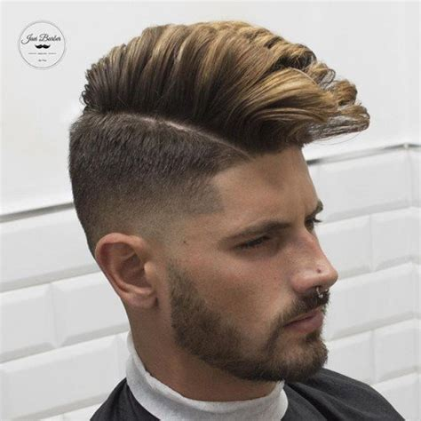 pompadour with hard part 40 modern pompadour hairstyles for men with images atoz