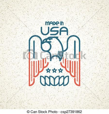 made in the usa symbol clip vector of made in the usa symbol with american