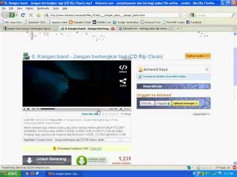 cara download mp3 dari youtube tanpa batas waktu cara cepat download lagu mp3 di 4shared com tanpa menunggu