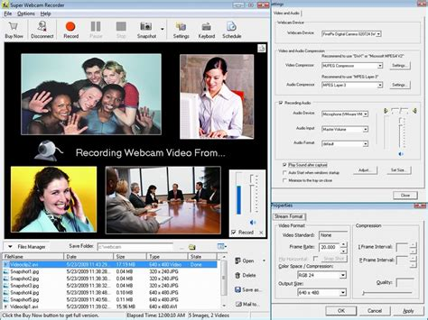 recording software web recorder record and