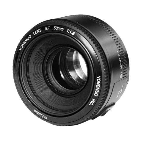 Lensa Canon Bokeh jual yongnuo 50mm f1 8 bokeh lensa kamera for canon hitam harga kualitas terjamin