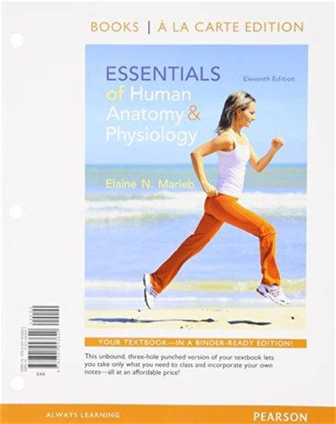 essentials of human anatomy physiology plus mastering a p with pearson etext access card package 12th edition essentials of human anatomy and physiology books a la