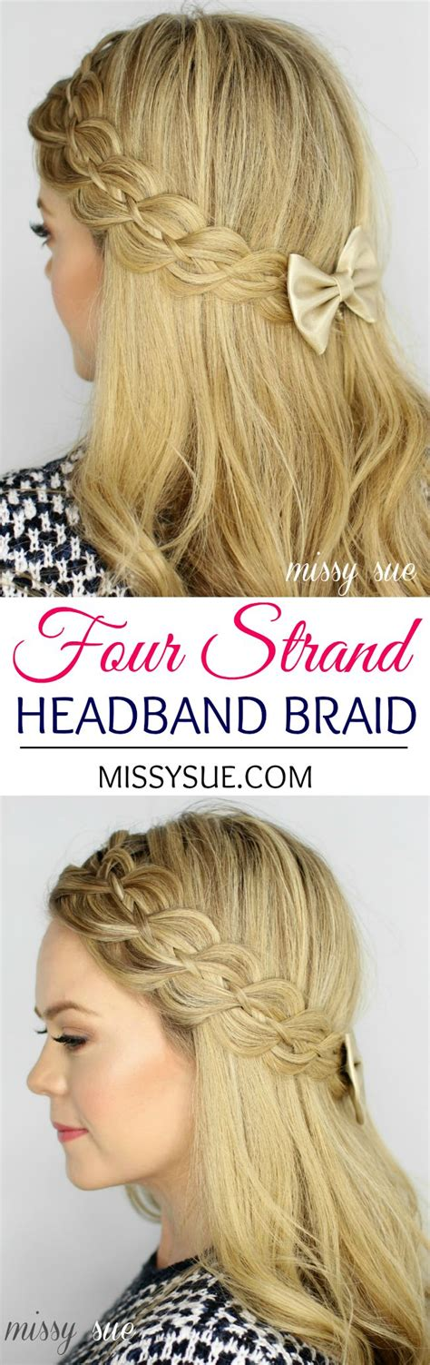 waterfall braid headband step by step 1517 best hair nails and makeup images on pinterest