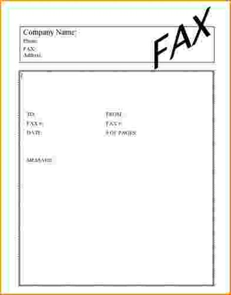 6 simple fax cover sheet teknoswitch