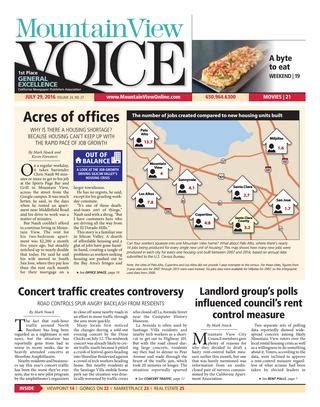 how big is one section of land mountain view voice july 29 2016 by mountain view voice