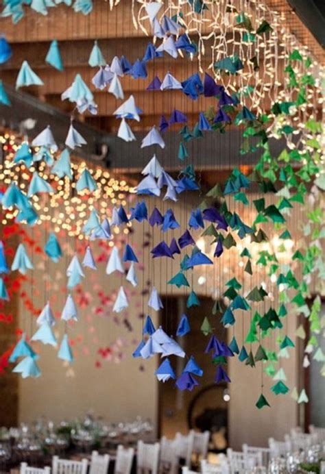 hanging origami flowers best 25 ceiling decorations ideas on