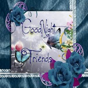 Good Night Cards Friends