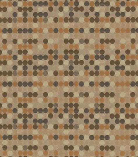 home decor upholstery fabric crypton dottie multi neutral