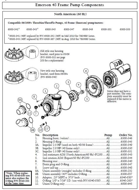 cal spa parts diagram sundance spa thermax theraflo 2 hp 1 speed 240 volt