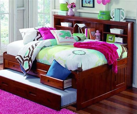full captains bed with bookcase headboard merlot full size bookcase captain s day bed with trundle