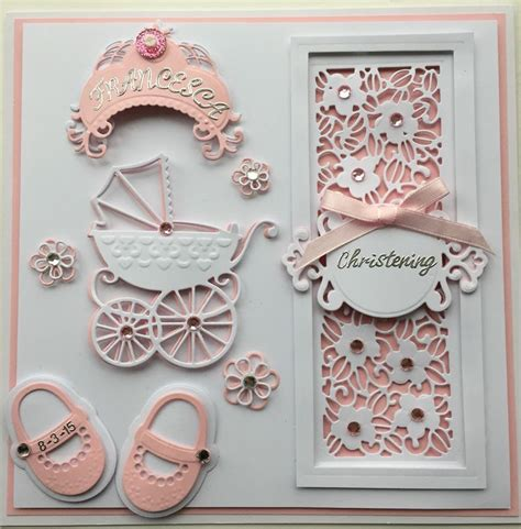 Handmade Christening Cards - 25 best ideas about handmade christening cards on