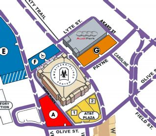 american airlines center parking guide dallas