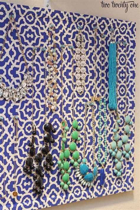 jewelry diy diy jewelry organizer