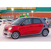 ForFour Go Faster Brabus Smart 2016 Spied By CAR Magazine